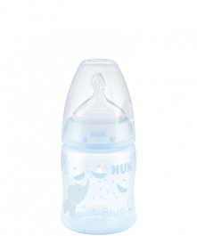 NUK First Choice Plus Baby Rose & Blue Bottle 150ml with Teat