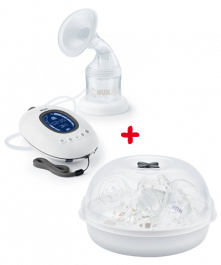 NUK Nature Sense Rechargeable Electric Breast Pump
