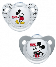 NUK Trendline Disney Mickey/Minnie Soother
