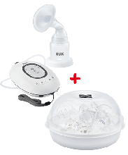 NUK First Choice Breast Pump and Steriliser Combo