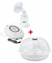 NUK First Choice Plus Electric Breast Pump + Micro Express