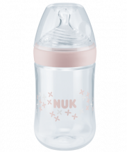 NUK Nature Sense Baby Bottle 260ml with teat