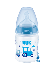 NUK First Choice Plus baby bottle with temperature control 150ml