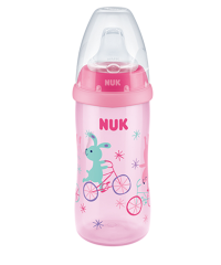NUK Active Cup 300ml with spout rose