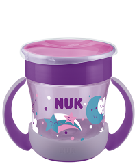 NUK Mini Magic Cup Night 160ml with drinking rim and lid