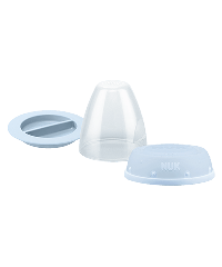 NUK First Choice Plus Bottle Cap Replacement Set Baby Rose and Blue